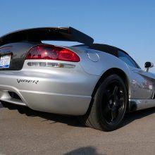 Silver Dodge Viper