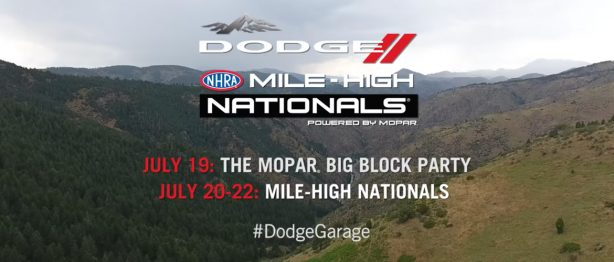 DRAG STRIP SHOWDOWN AT DODGE MILE-HIGH NHRA NATIONALS - Thumbnail