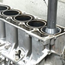 engines with die-cast aluminum blocks