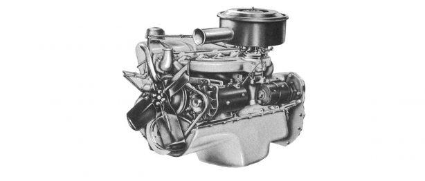an engine of a car