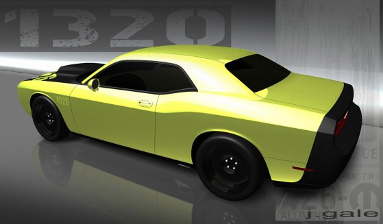 image of a yellow 1320 challenger