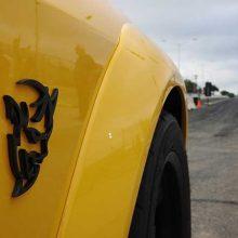 Yellow Dodge Demon Challenger SRT