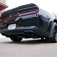 Black Dodge Demon SRT