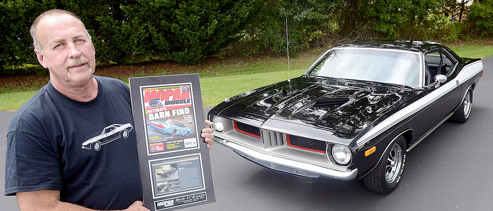 45 Years Later…1973 'Cuda Is Still His Baby