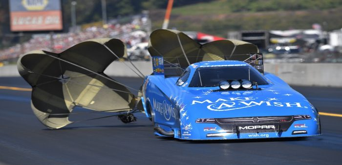 Tommy Johnson Jr. drag racing