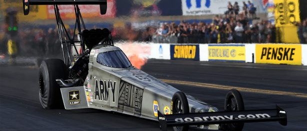 Tony Schumacher's Army top fuel dragster