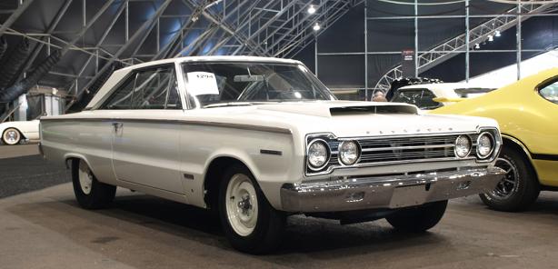 White Dodge Coronet