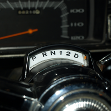 dashboard of 1965 Race HEMI