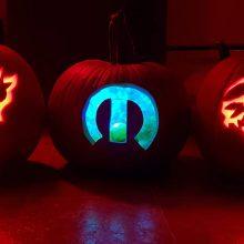 Dodge Demon, Mopar and Dodge Hellcat pumpkins