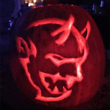 Dodge Demon Pumpkin