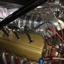 Engine block of Hurst HEMI Under Glass
