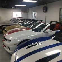 Joe Spagnoli's car collection