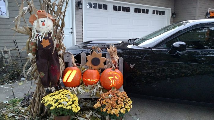Dodge, Hellcat and Dodge Rhombus pumpkins