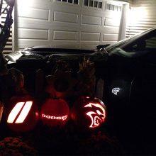 Dodge, Hellcat and Dodge Rhombus pumpkins