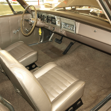 Like today's Dodge Challenger Scat Pack 1320, the Race HEMI sedans came standard with no back seat.