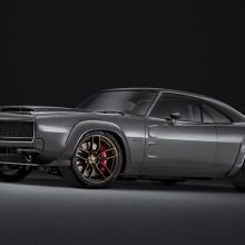 "The 1968 Dodge ""Super Charger"" Concept, revealed on October 30, 2018, at the Mopar SEMA Show press briefing in Las Vegas, is the perfect package for highlighting the new ""Hellephant"" 426 Supercharged Mopar Crate HEMI® Engine and Kit."