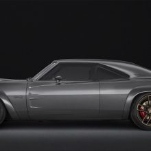 "1968 Dodge ""Super Charger"" Concept, powered by the new 1,000-horsepower ""Hellephant"" 426 Supercharged Mopar Crate HEMI® Engine and Kit."