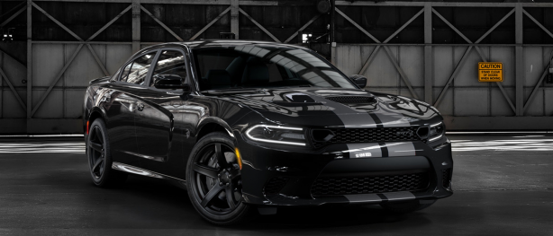 Black Dodge Charger
