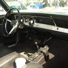 interior of this BO29 HEMI Barracuda
