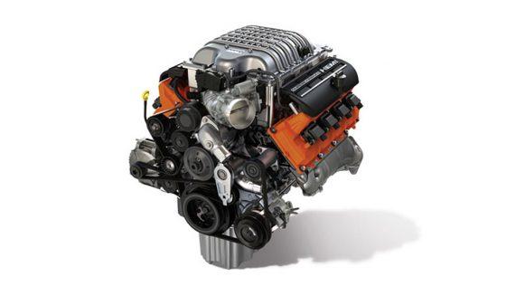 2015 6.2L (376.3 c.i.d) supercharged HEMI V8 Hellcat