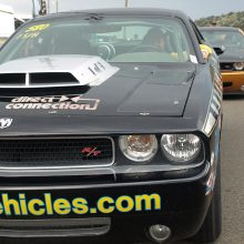 Though Drag Paks have been offered with factory graphics packages, many racers apply stock colors or their own custom graphics for quick identification. These Drag Paks were just two of over a dozen racing at the 2017 Mopar® Mile High Nationals in Bandimere, Colorado. The Drag Pak's boundary layer hood scoop is patterned after the 1970 Challenger T/A unit.