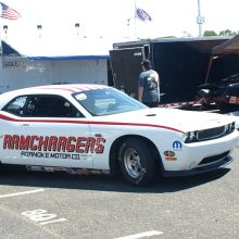 V10 Drag Pak painted to resemble the Ramchargers' 1970 Pro Stock.