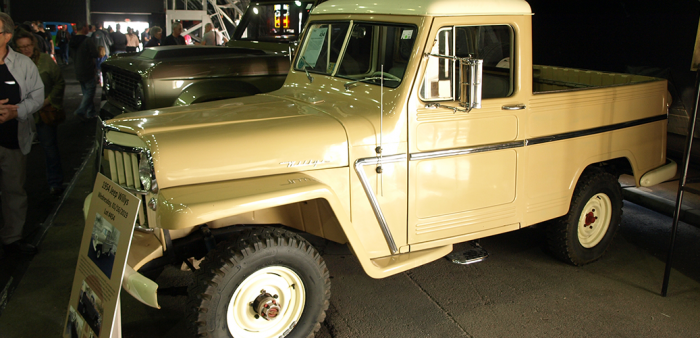 1962 Jeep Gladiator for sale at Barrett-Jackson auction