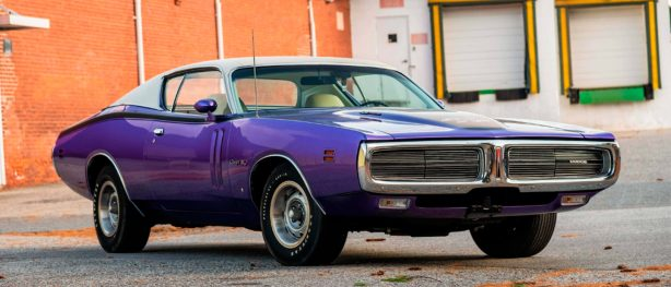 Plum Crazy 1971 HEMI Charger at Mecum Kissimmee auction
