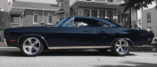 1970 black Plymouth Road Runner