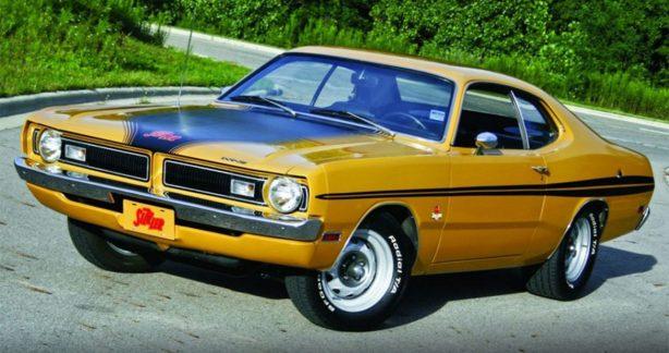 Butterscotch Dodge Challenger