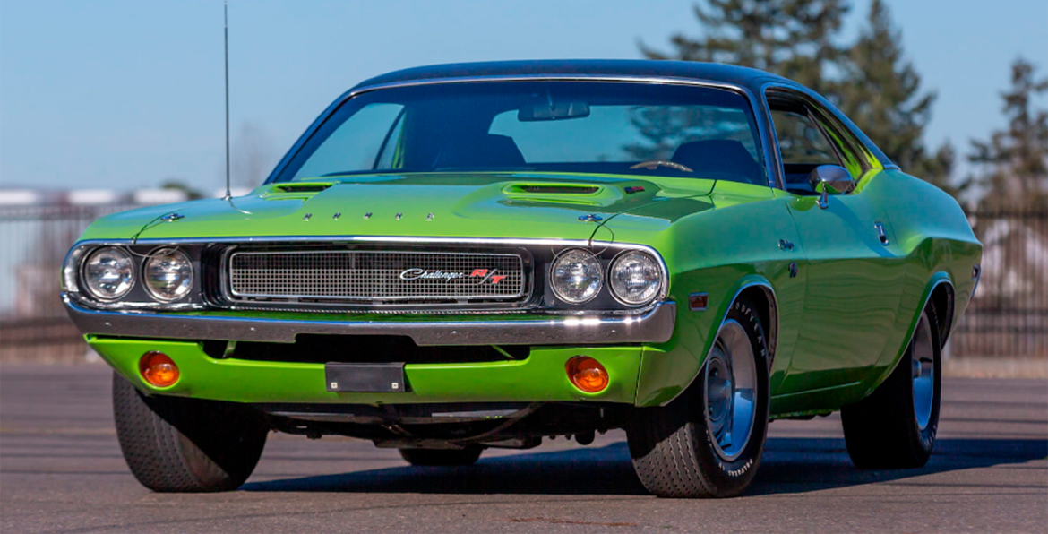 1970 Green Challenger R/T
