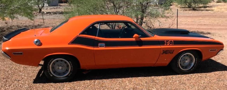 1970 Orange T/A Challenger