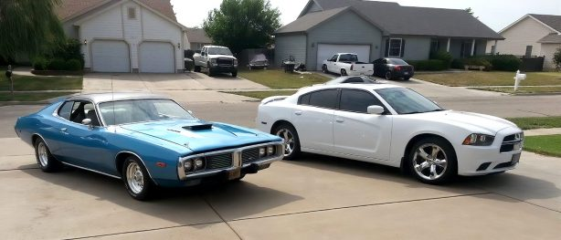 '11 & '73 Chargers