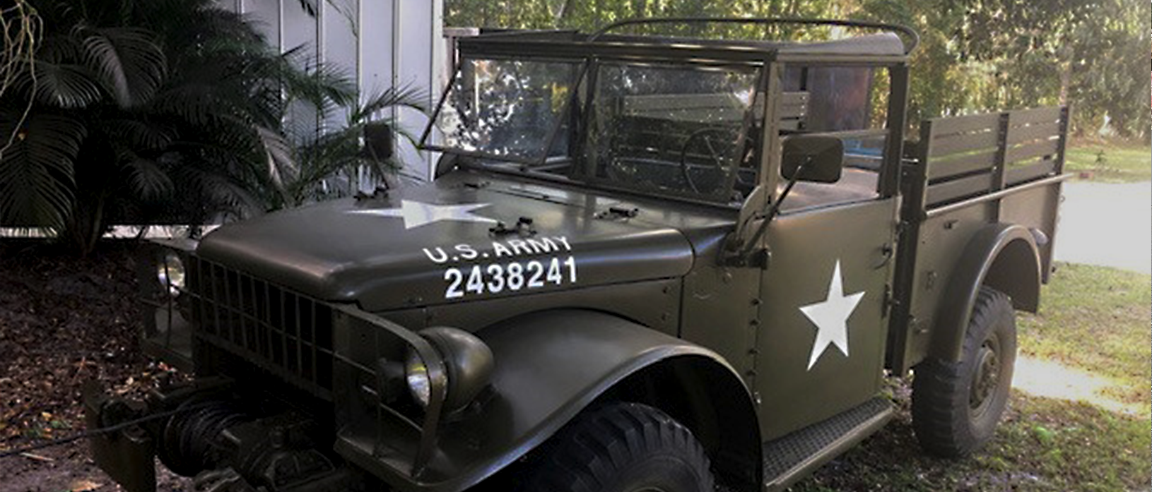 1953 Dodge M37 Military Pickup