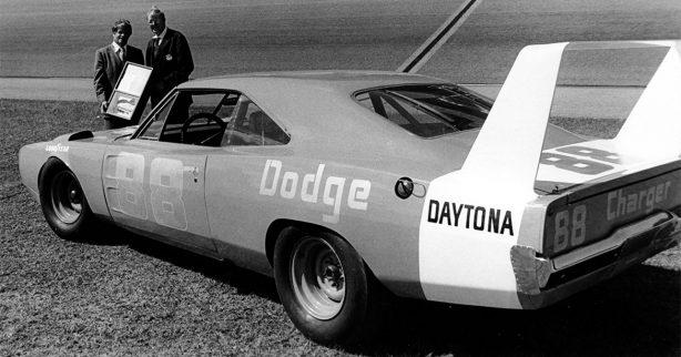 Old Dodge Daytona race car