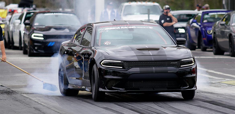 Dodge Charger - Black Burnout