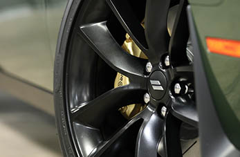 Bronze Brembo brake calipers