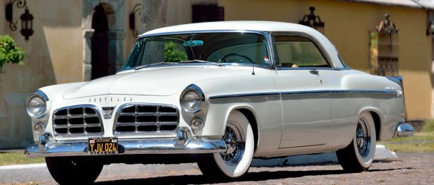 White 1955 Chrysler C 300