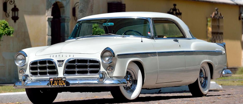 White 1955 Chrysler C 300