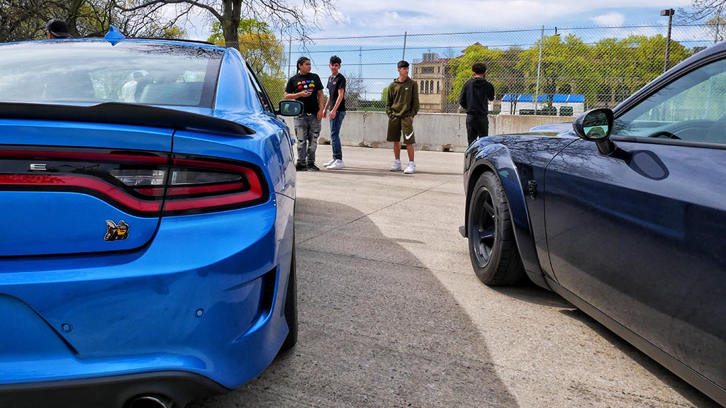 Dodge Scat pack charger and Dodge challenger.
