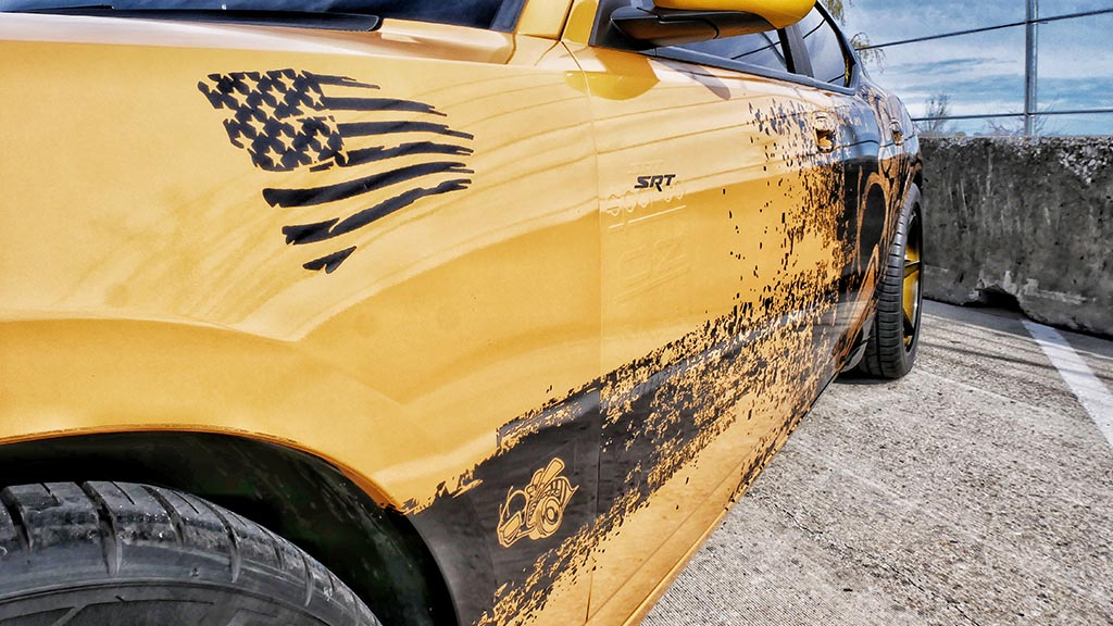 Dodge SRT Angry Bee Charger