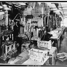 Dodge Brothers machine shop 1915