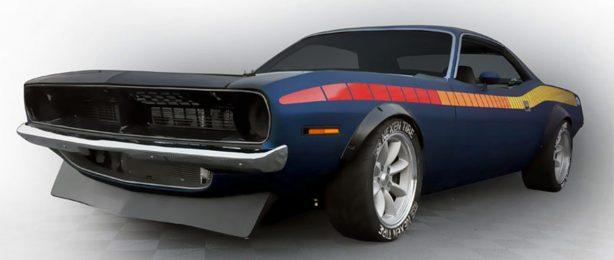 Mockup image of a Dodge Challenger