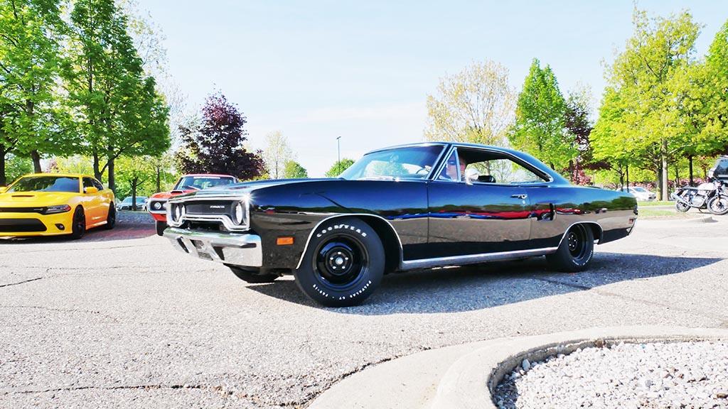 Black 1970 Roadrunner