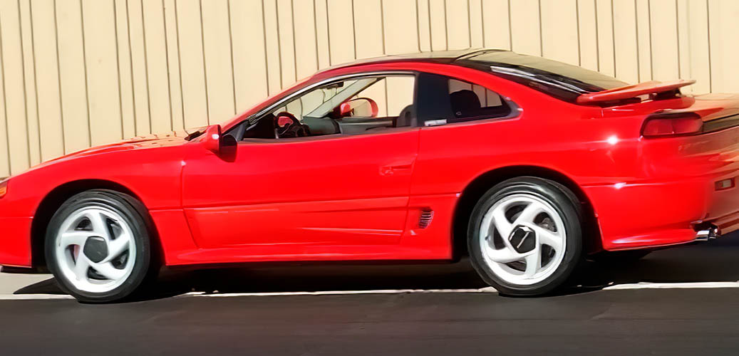 Red Dodge Stealth R/T Turbo