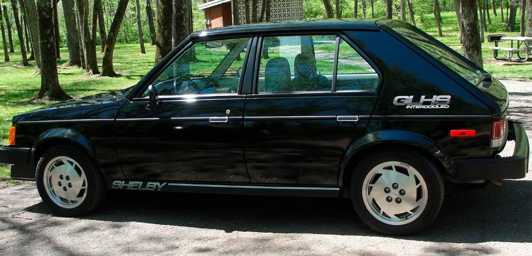 Black 1986 Dodge Omni