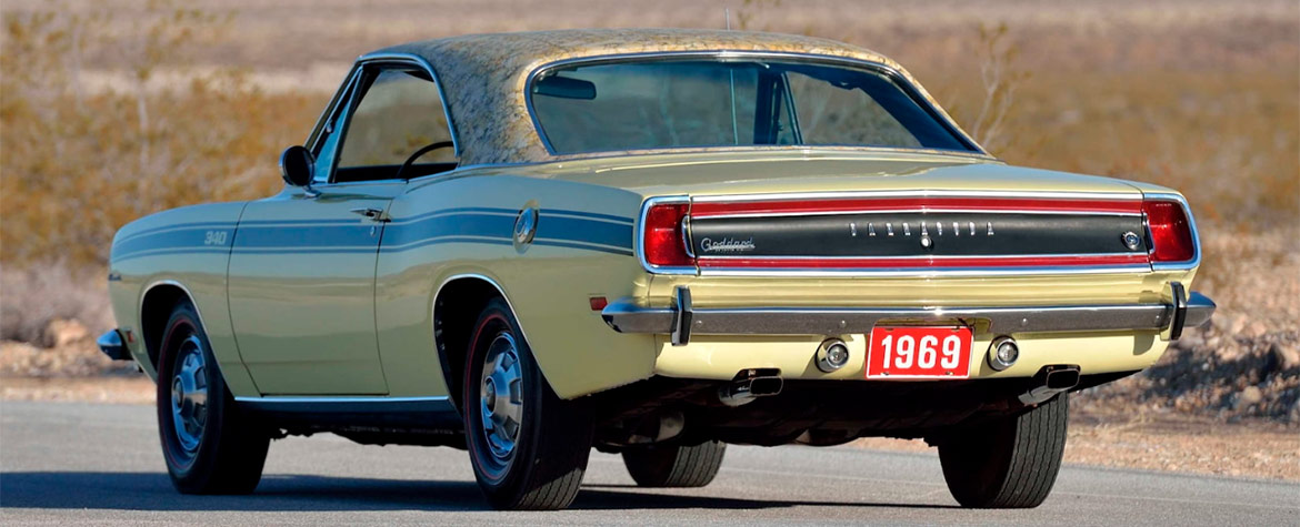 1969 Plymouth Barracuda Mod Top