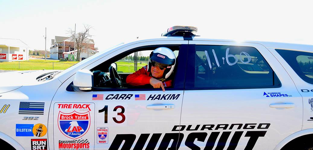David Hakim racing Durango Pursuit in OLOA