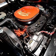 Engine of RTS Roadrunner