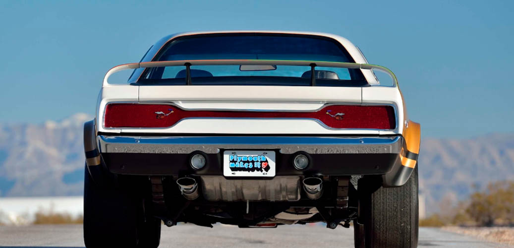 White 1971 RTS Duster